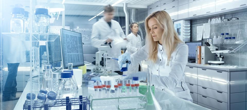 MFA m/w für Labortätigkeiten in München gesucht